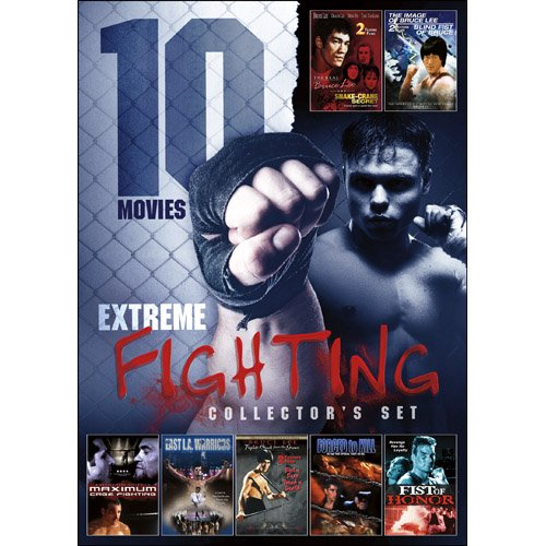 10-EXTREME Fighting Set On DVD With Sam Jones