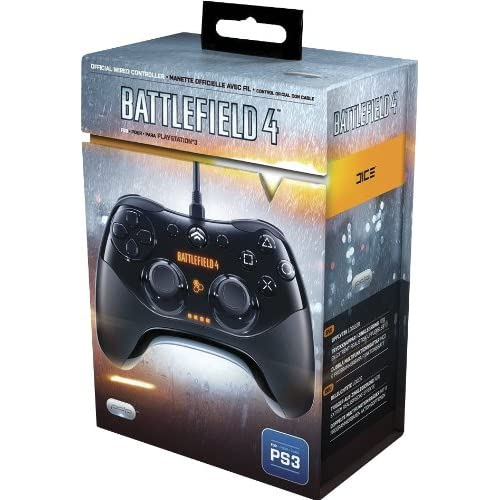Image 0 of PDP Battlefield 4 Wired Controller For PlayStation 3 PS3 Black Gamepad PL-6455