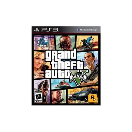 Image 0 of Grand Theft Auto V 5 Blu-Ray Disc PlayStation 3 PS3