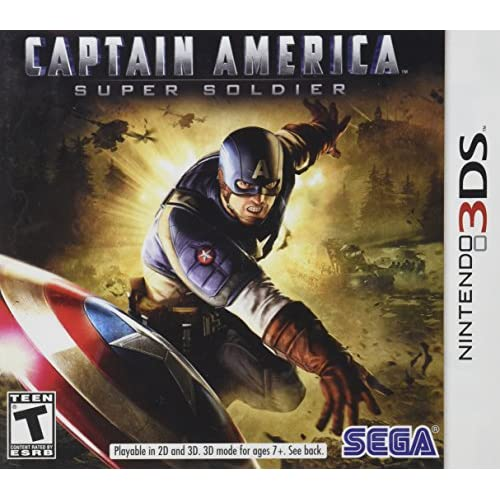 Captain America: Super Soldier Nintendo For 3DS