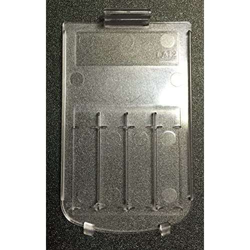 Image 0 of Texas Instruments Ti 84 Plus Battery Cover Clear