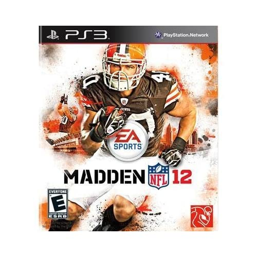 Electronic Arts EA Madden NFL 12 For PlayStation 3 PS3 Football With