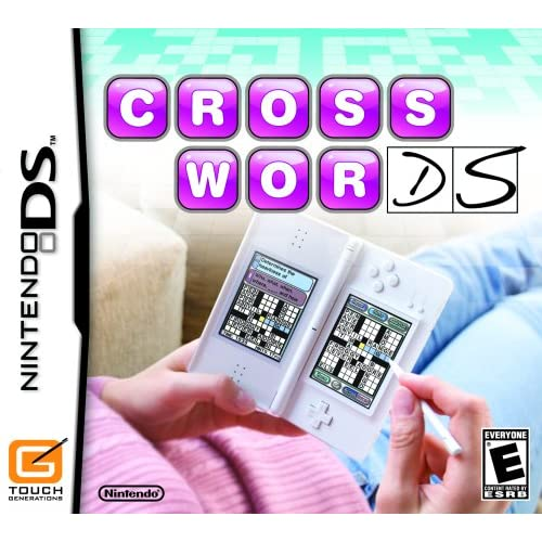 Image 0 of Crosswords For Nintendo DS DSi 3DS 2DS Puzzle