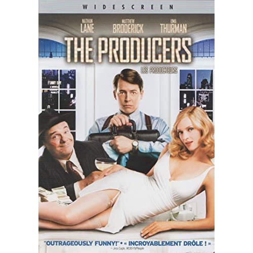 Image 0 of The Producers Widescreen Edition On DVD With Nathan Lane Comedy