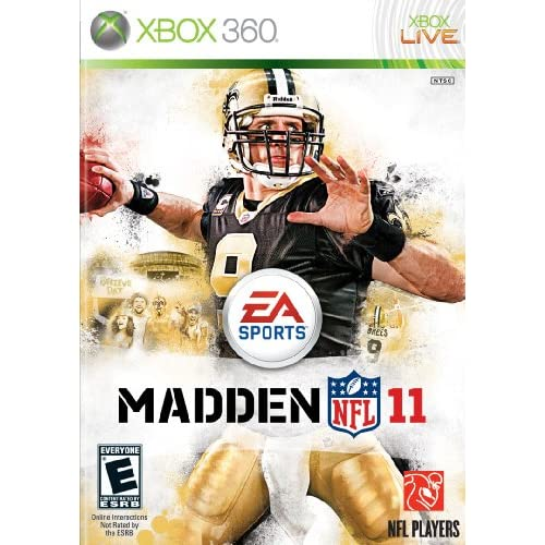Madden NFL 11 For Xbox 360 Football