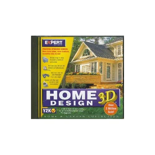 Home Design 3d Expert: Home Design 3D Cd-Rom By Expert Software On DVD