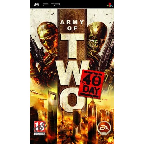 Army Of Two: The 40th Day For PSP UMD