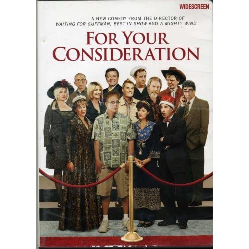 For Your Consideration On DVD Comedy  For Your Consid...