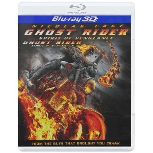 Ghost Rider: Spirit Of Vengeance 3D On Blu-Ray With Nicolas Cage