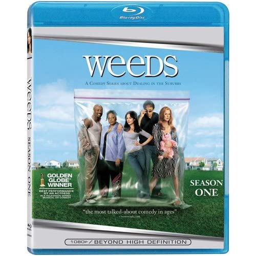Image 0 of Weeds: Season 1 Blu-Ray On Blu-Ray With Mary-Louise Parker Comedy