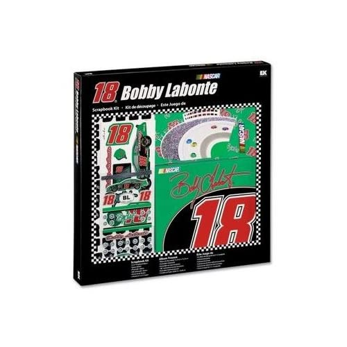 Bobby Labonte Scrapbook Kit NASCAR #18 Original Box Toy