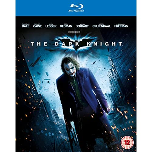 Batman Dark Knight Movie On Blu-Ray
