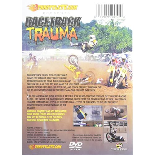 Image 3 of Racetrack Trauma On DVD