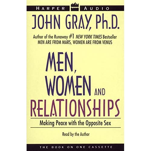 Image 0 of Men Women And Relationships By John Gray And John Gray Reader On Audio Cassette