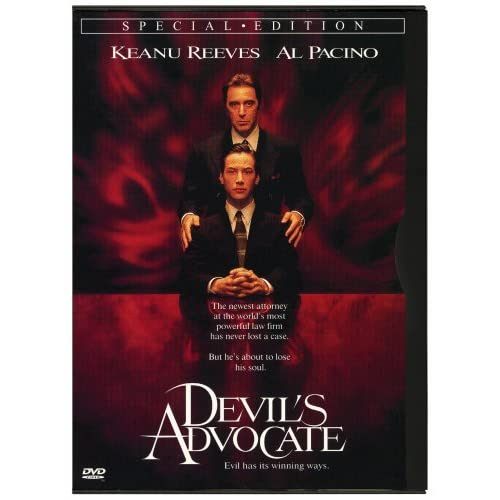 Image 0 of Devil's Advocate On DVD With Keanu Reeves Mystery
