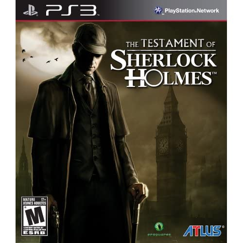 The Testament Of Sherlock Holmes For PlayStation 3 PS3
