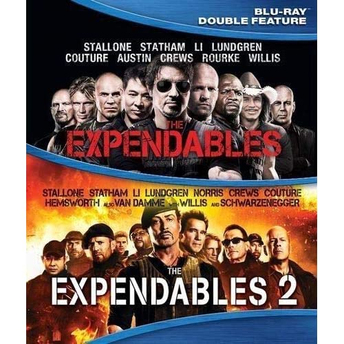 Image 0 of The Expendables / The Explendables 2 Blu-Ray On Blu-Ray