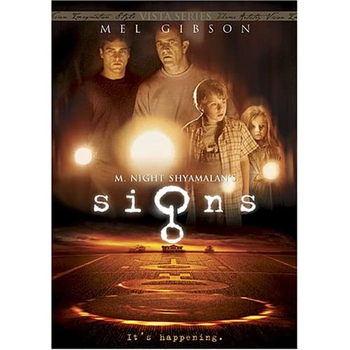 Signs On DVD Mystery
