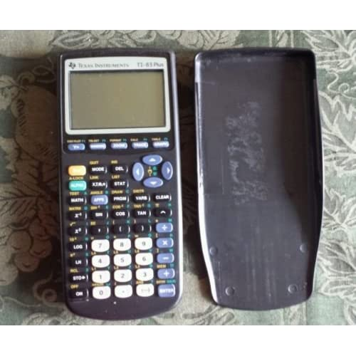 Lot Of 10X Texas Instruments TI-83 Plus Graphic Calculator