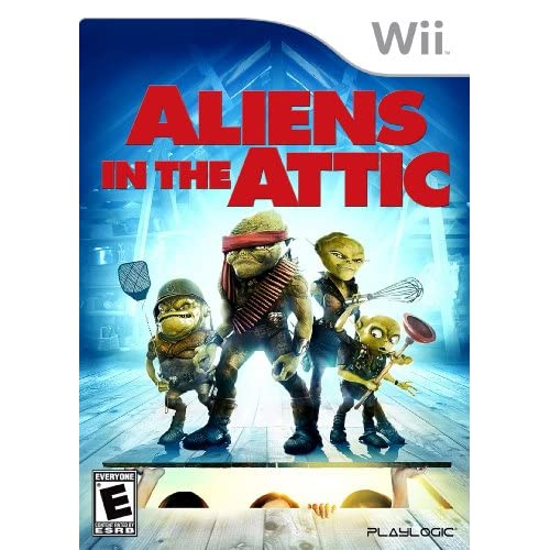Aliens In The Attic For Wii