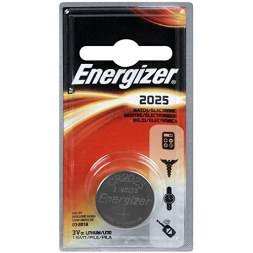 Energizer Watch/electronic Battery 3 Volt 2025 1 Each Pack Of 2