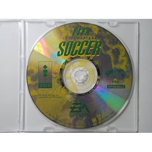 FIFA International Soccer-Panasonic For 3DO Vintage With Manual And Case