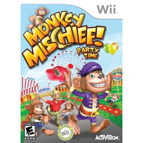 Image 0 of Monkey Mischief! For Wii And Wii U Puzzle