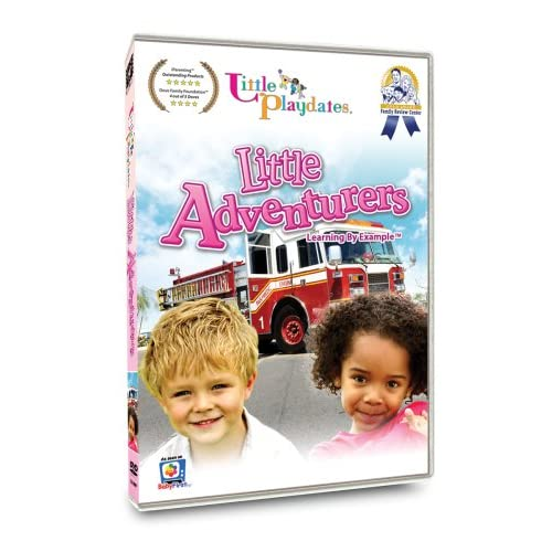 Image 0 of Little Playdates: Little Adventurers On DVD Children