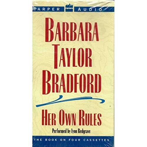 Image 0 of Her Own Rules By Bradford Barbara Taylor Redgrave Lynn Narrator On Audio Cassett