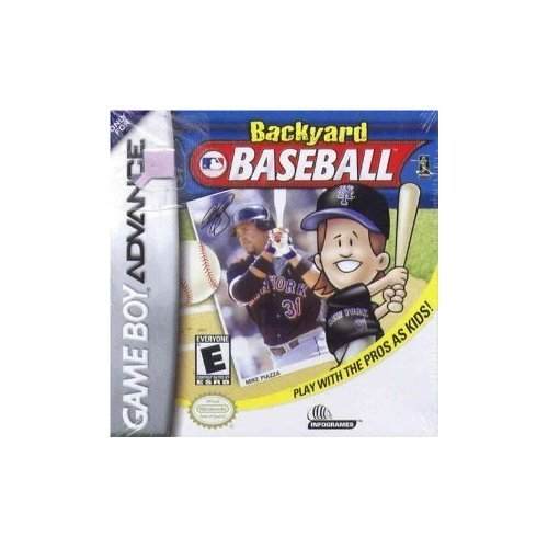 Backyard Baseball For GBA Gameboy Advance