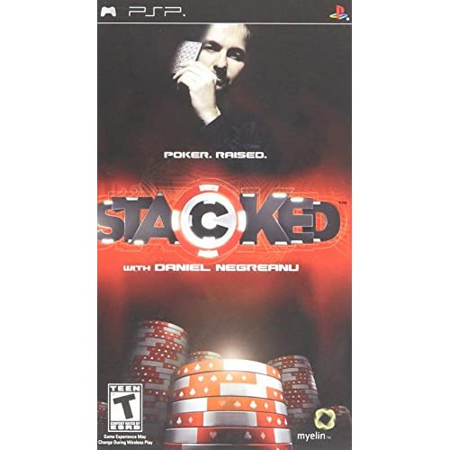 Image 0 of Stacked With Daniel Negreanu Sony For PSP UMD