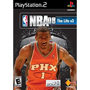 NBA 08: The Life V3 PS2 Basketball For PlayStation 2