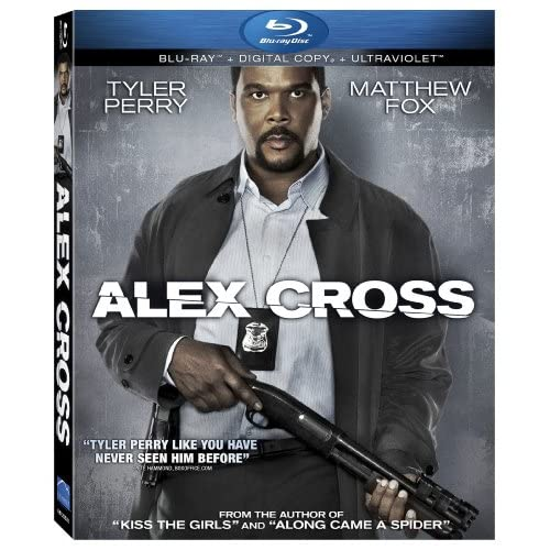 Alex Cross Ultraviolet On Blu-Ray With Tyler Perry