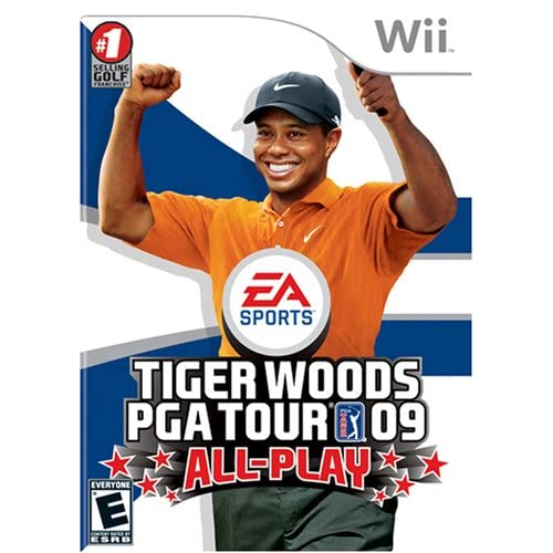 Image 0 of Tiger Woods PGA Tour 09 All-Play For Wii and Wii U Golf