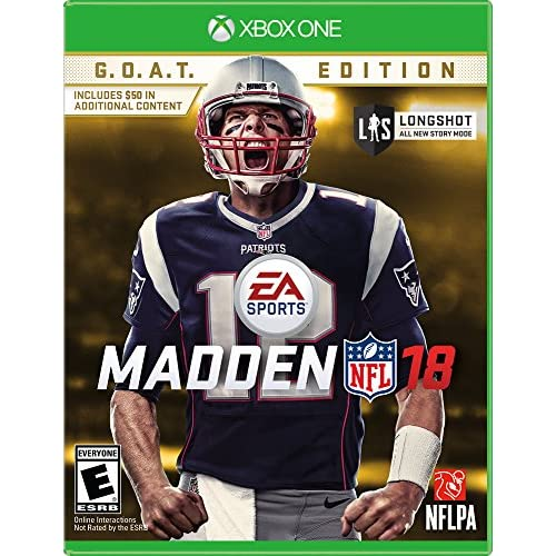Image 0 of Madden NFL 18: Goat Edition Football For Xbox One
