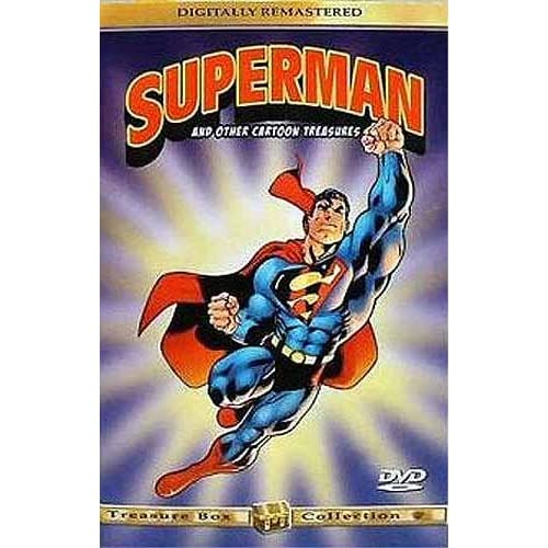 Image 0 of Superman And Other Cartoon Treasures On DVD With