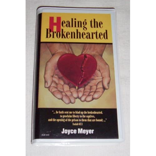 Image 0 of Healing The Brokenhearted Joyce Meyer By Joyce Meyer On Audio Cassette