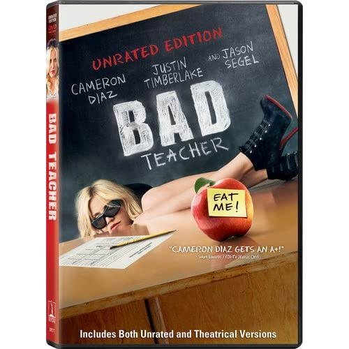 Image 0 of Bad Teacher Unrated Edition On DVD With Jason Segel Comedy