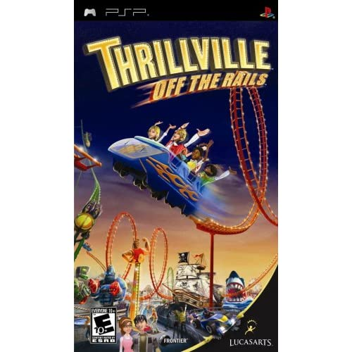 Image 0 of Thrillville: Off The Rails For PSP UMD Strategy