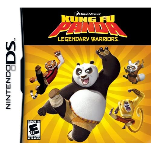 Image 0 of Kung Fu Panda Legendary Warriors For Nintendo DS DSi 3DS 2DS