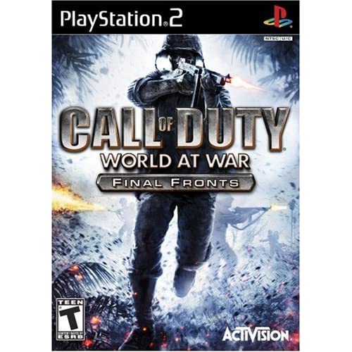 Call Of Duty: World At War Final Fronts For PlayStation 2 PS2 COD