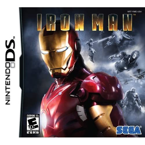 Image 0 of Iron Man For Nintendo DS DSi 3DS 2DS Fighting