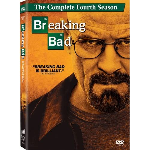 Image 0 of Breaking Bad Season 04 On DVD With Bryan Cranston TV Shows