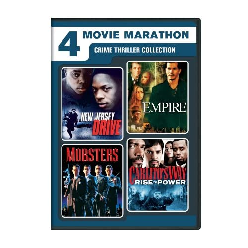 Image 0 of 4 Movie Marathon: Crime Thriller Collection New Jersey Drive / Empire / Mobsters