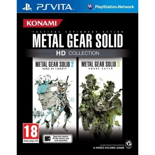 Image 0 of Metal Gear Solid HD Collection PlayStation Vita For Nintendo DS DSi 3DS 2DS