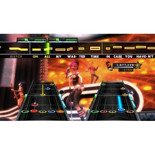 Image 2 of Band Hero Stand Alone Software For PlayStation 2 PS2 Music