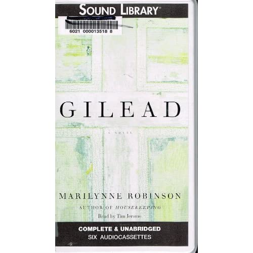 Image 0 of Gilead By Robinson Marilynne Jerome Tim Narrator On Audio Cassette
