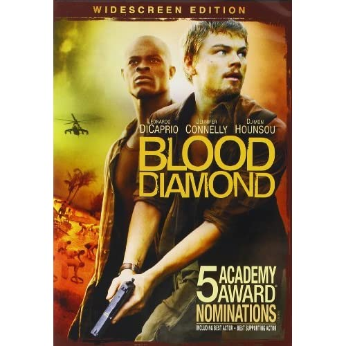 Image 0 of Blood Diamond Widescreen Edition On DVD With Leonardo Dicaprio Mystery