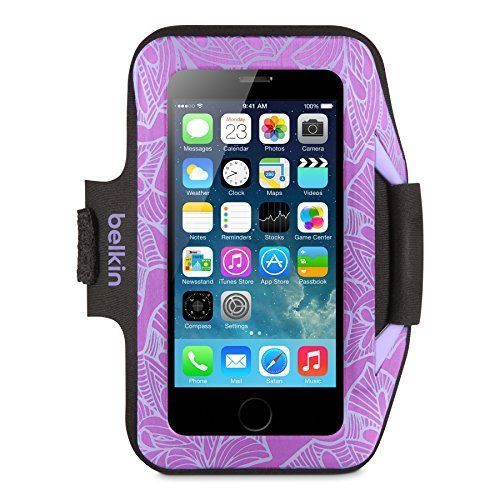 Belkin Armband Case For iPhone 5 5S SE 5C Purple