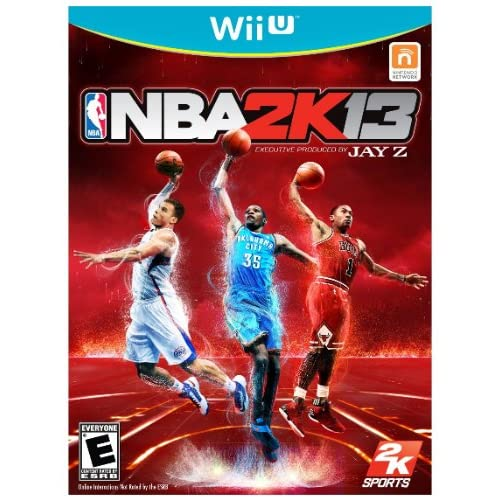 NBA 2K13 For Wii U Basketball